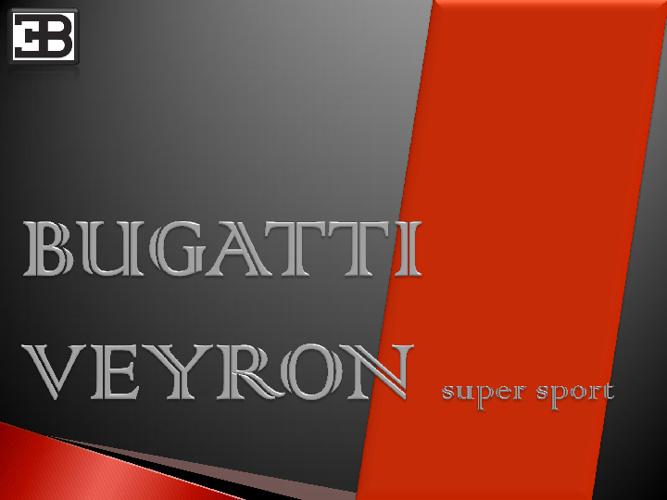 Bugatti veyron ss.