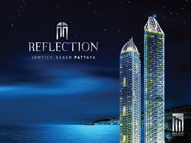 Reflection Jomtien Beach Pattaya