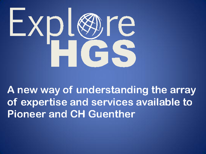 CH Guenther - Explore HGS