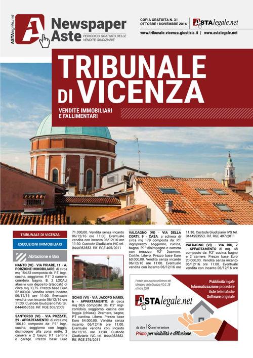 Vicenza ottobre novembre 2016