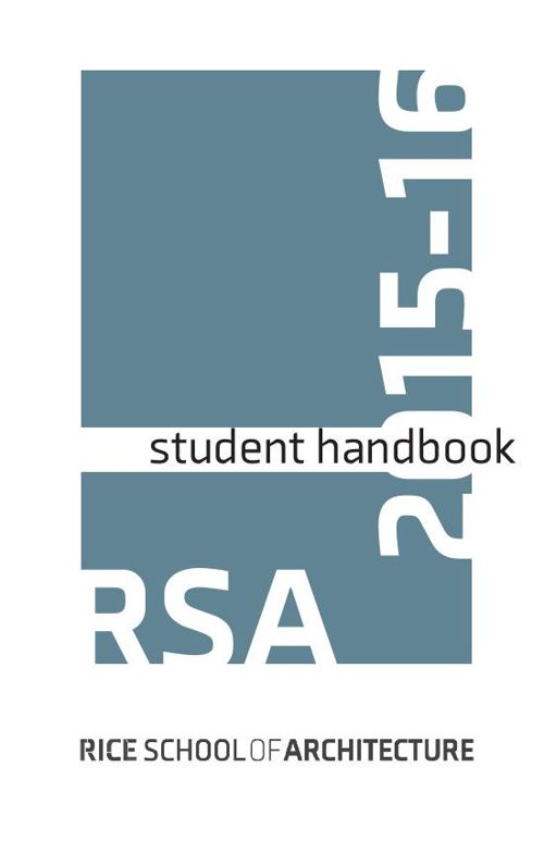 2015-2016-RSA Student Handbook