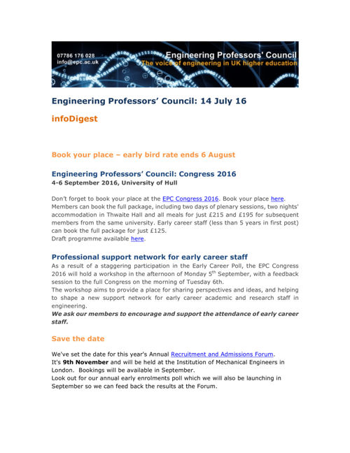 Engineering Professors' Council infoDigest 14 Jul 16