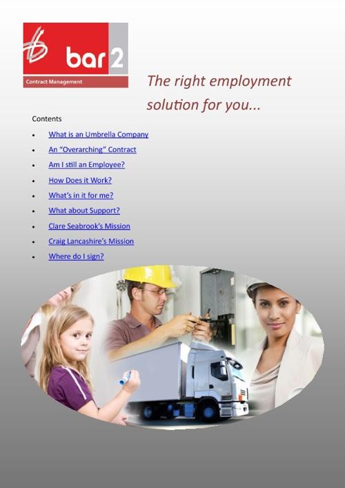 Bar 2 Employee Brochure