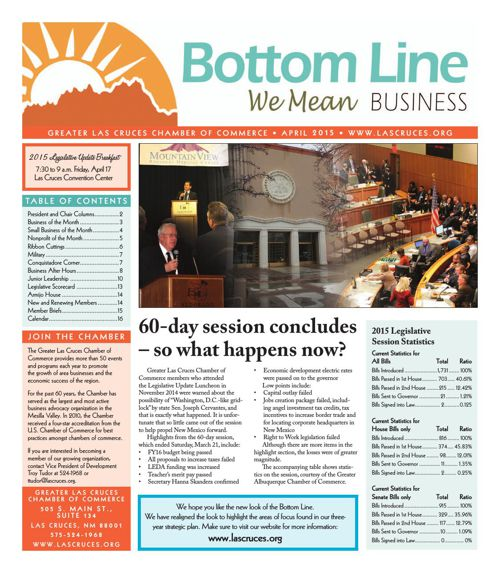 The Bottom Line April 2015