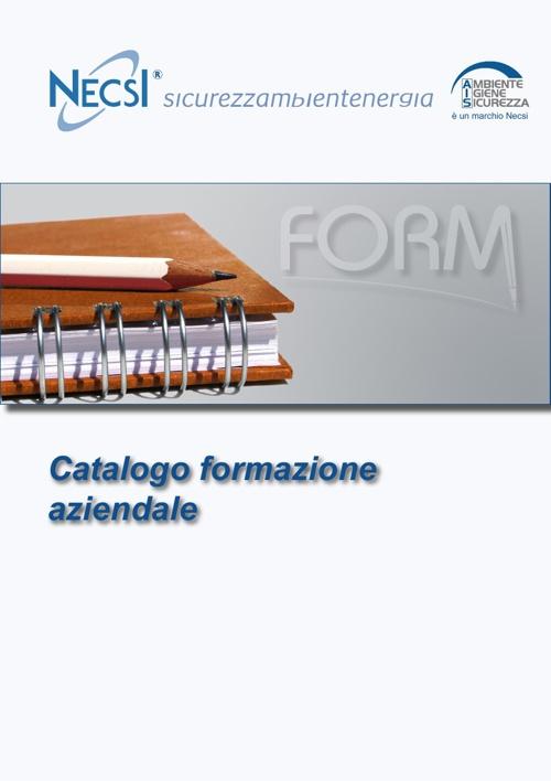 Catalogo formazione aziendale NECSI