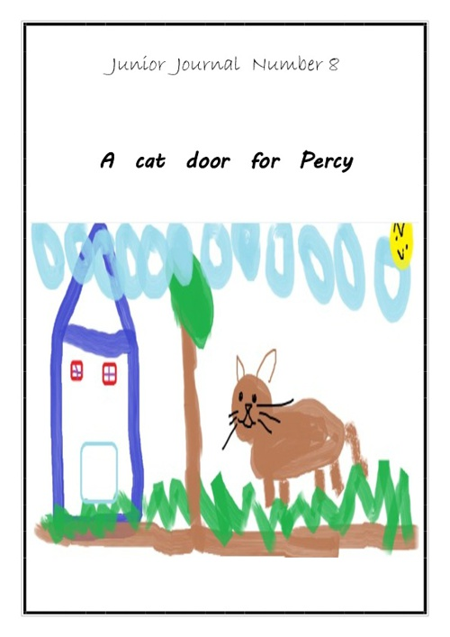 A Cat Door for Percy