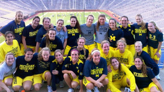 Michigan Women's Waterpolo Parent Picts 2013