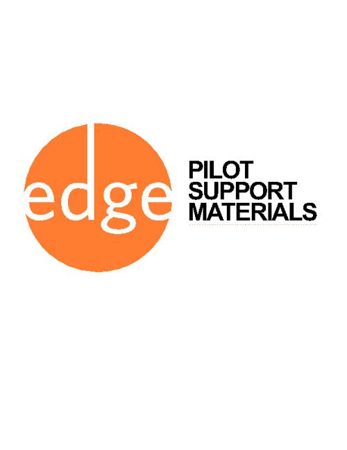 Edge Pilot Materials e-Flip Book