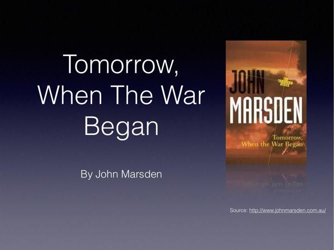 tomorrow when the war began belonging