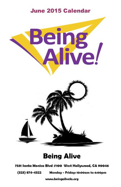 Being Alive June 2015 Calendar