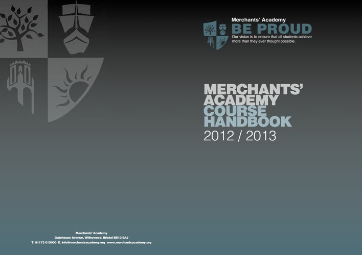 Merchants' Academy P16 Course Booklet