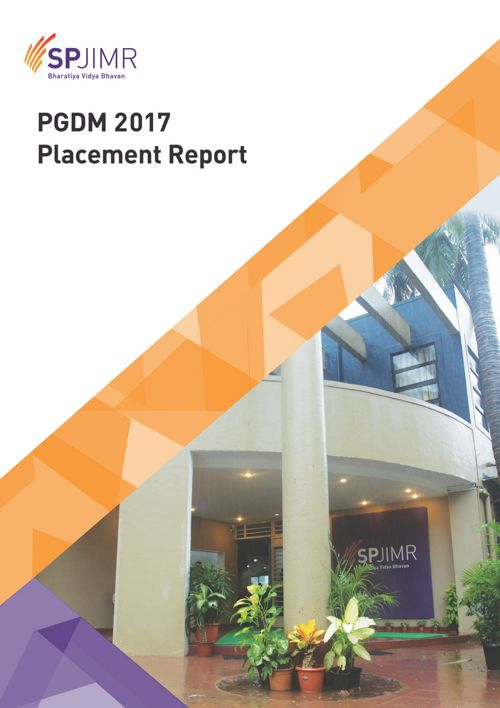 PGDM Placement Report2017