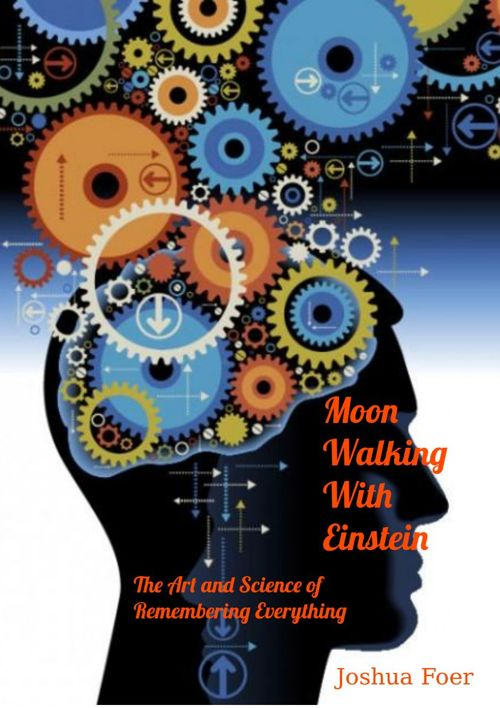 Moon Walking With Einstein Book Cover Redesign