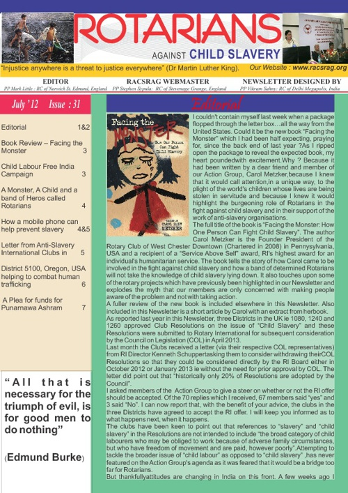 RACS Newletter 31