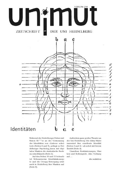 un!mut Nr. 214: Identitäten