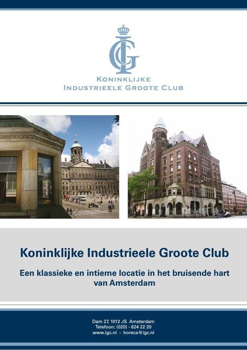 Koninklijke IGC Evenementen informatie 2014
