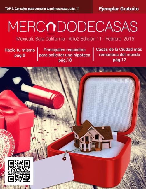 Revista Mercado de Casas, Edición 11 - Febrero 2015
