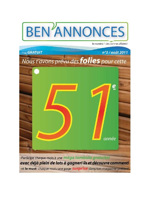 Ben'Annonces Mag N° 2