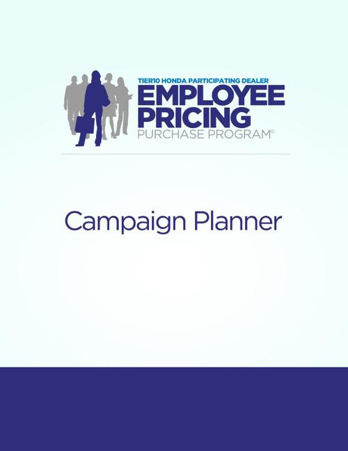 Employee Pricing Purchase Program
