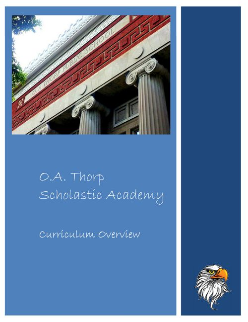 Thorp Curriculum Overview