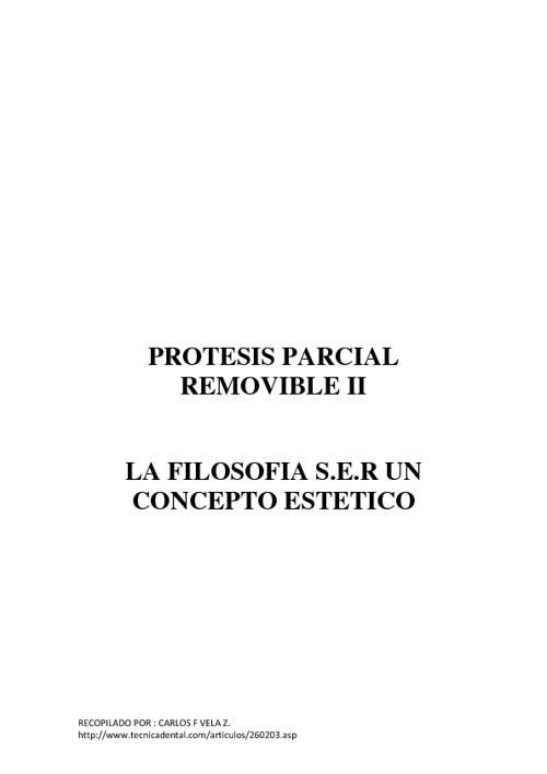 New FlipprotesisPROTESIS REMOVIBLE II FILOSOFIA S.E.R