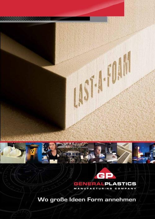 GP corporate brochure - German