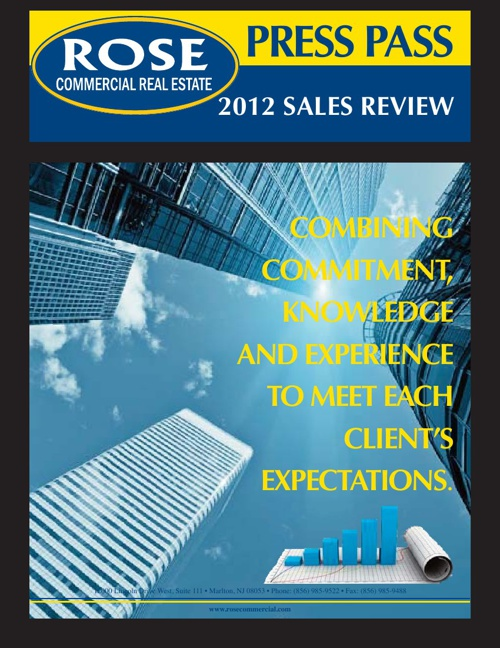 Press Pass 2012 Sales Review