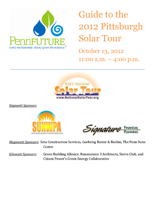 Copy of 2012 Pittsburgh Solar Tour