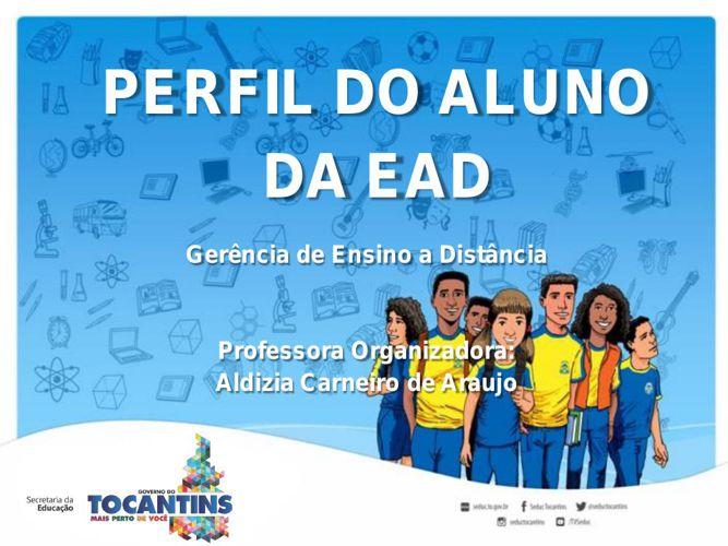O PERFIL DO ALUNO DA EAD