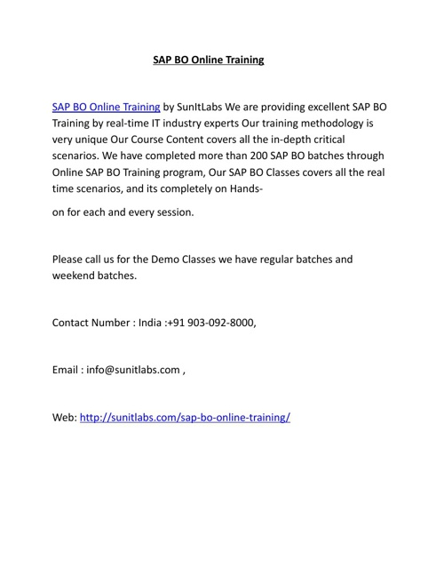 SAP_BO_Online_Training