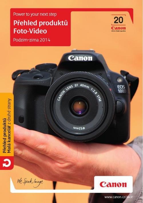 Přehled produktů - Foto - Video / Podzim / Zima 2014