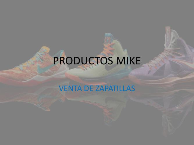 PRODUCTOS MIKE