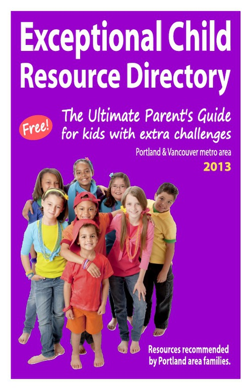 Exceptional Child Resource Directory - 2013