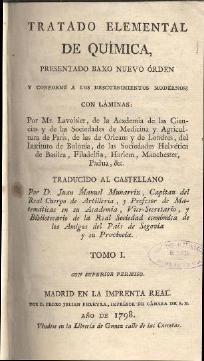 Tratado Elemental de Quimica - Lavoisier - TOMO I