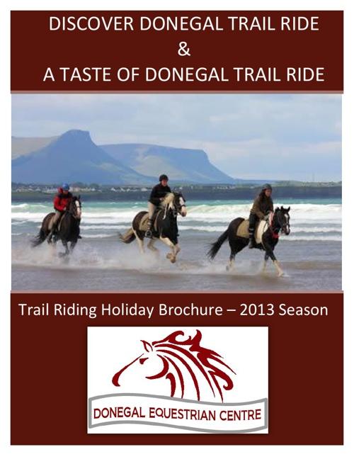 2013 Trail Ride Brochure