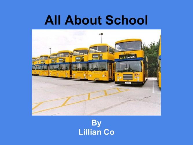 Lillianallaboutschool