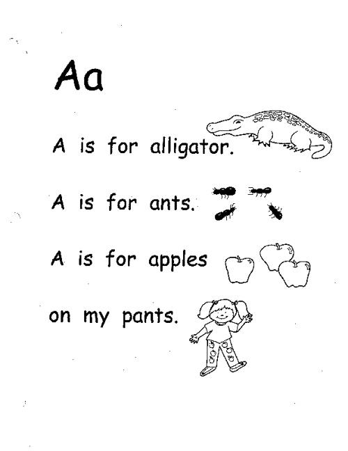 ABC poems A-J