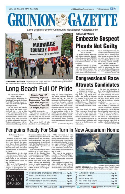 Grunion Gazette | May 17, 2012