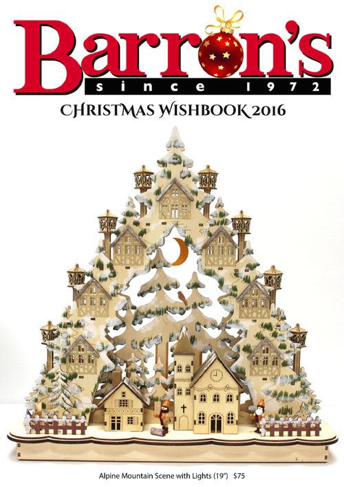 Barron's Christmas Wishbook 2016