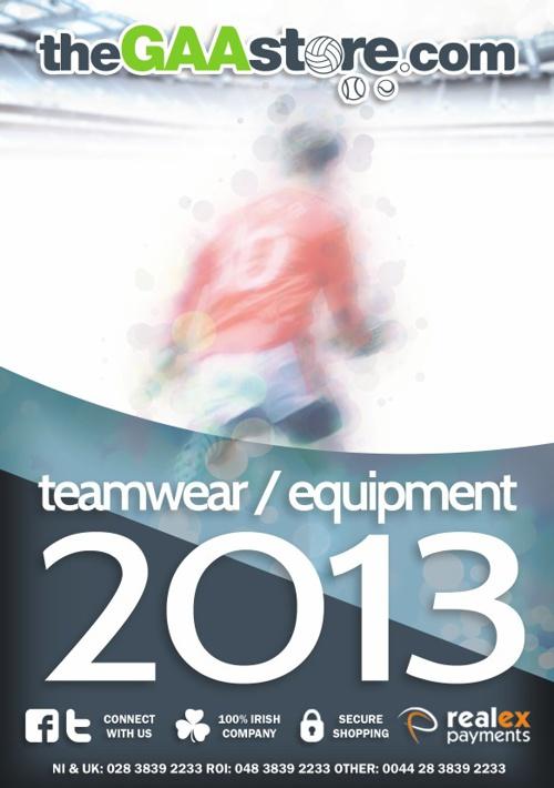 Teamwear / Equipment 2013