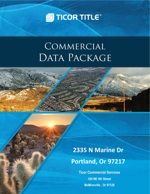 Commercial Data Package 2335 N Marine