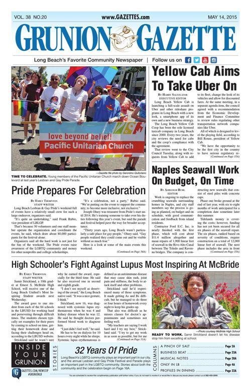 Grunion Gazette | May 14, 2015