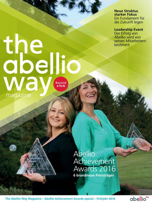 Abellio Achievement Awards 2016 - German version