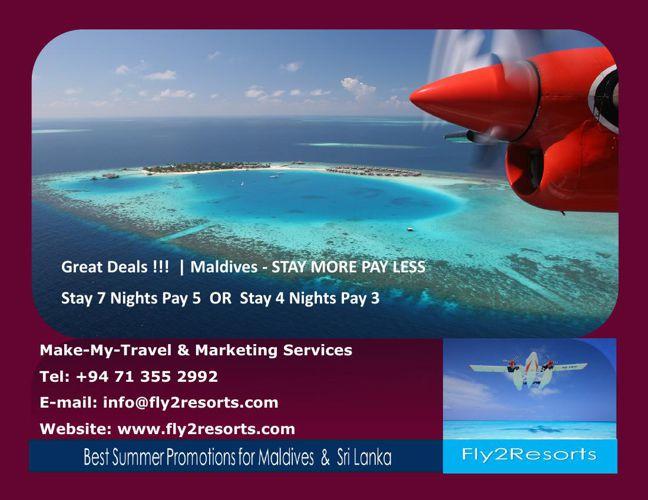 Summer Promotion- Fly2Resorts.com