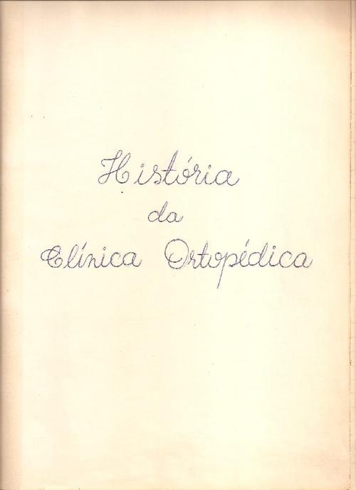 História da Ortopedia