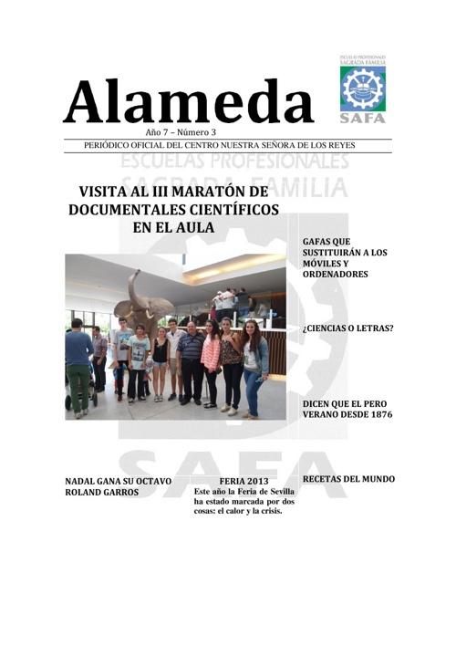 Periódico Alameda Junio 2013
