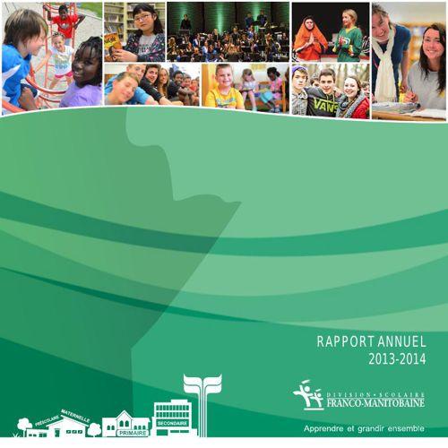 DSFM - Rapport annuel 2013-2014