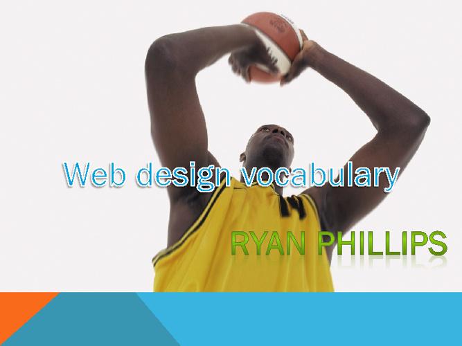 Ryan's WebSite Vocabulary Book