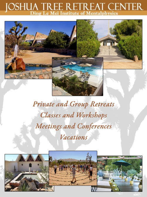 Joshua Tree Retreat Center Brochure