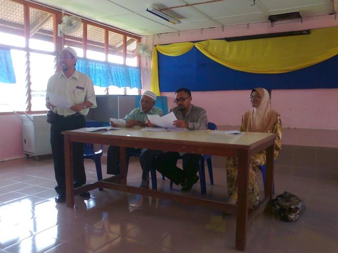 Majlis Perjumpaan Ibu bapa Tahun 6 2012